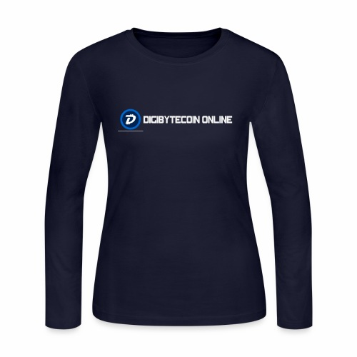 Digibyte online light - Women's Long Sleeve Jersey T-Shirt