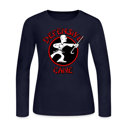 Defensive Cane - Women's Long Sleeve Jersey T-Shirt