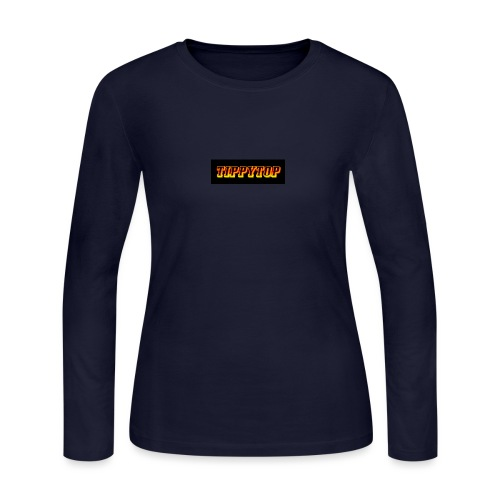 clothing brand logo - Women's Long Sleeve Jersey T-Shirt