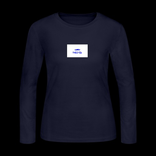Blue 94th mile - Women's Long Sleeve Jersey T-Shirt