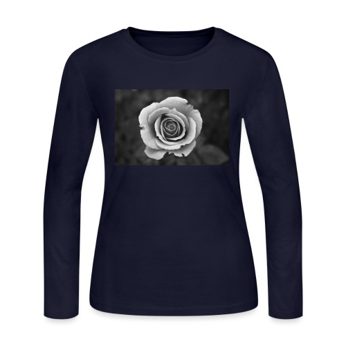 dark rose - Women's Long Sleeve Jersey T-Shirt