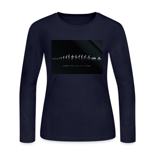 DIFFERENT STAGES OF HUMAN - Women's Long Sleeve Jersey T-Shirt