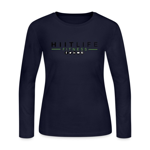HLFLogosocial - Women's Long Sleeve Jersey T-Shirt