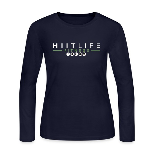 hlfsocialwht - Women's Long Sleeve Jersey T-Shirt