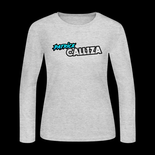 Patrick Calliza Official Logo - Women's Long Sleeve Jersey T-Shirt
