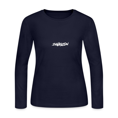 invasion logo hover - Women's Long Sleeve Jersey T-Shirt