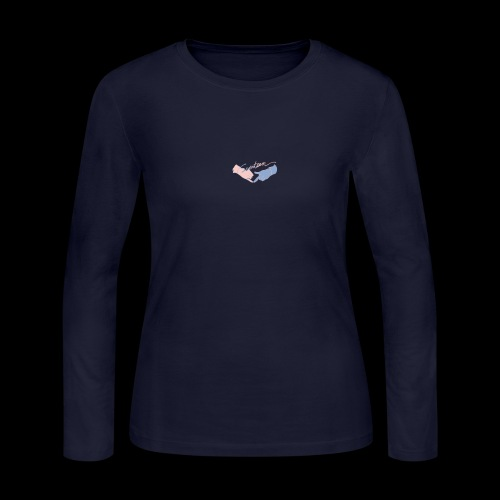Black T-Shirt - Seventeen - Women's Long Sleeve Jersey T-Shirt