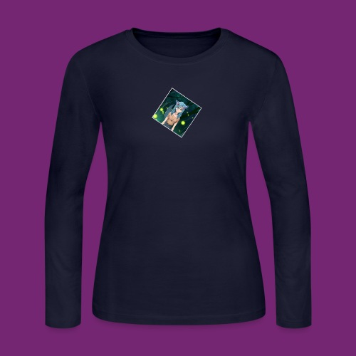 Wolfie Pack - Women's Long Sleeve Jersey T-Shirt