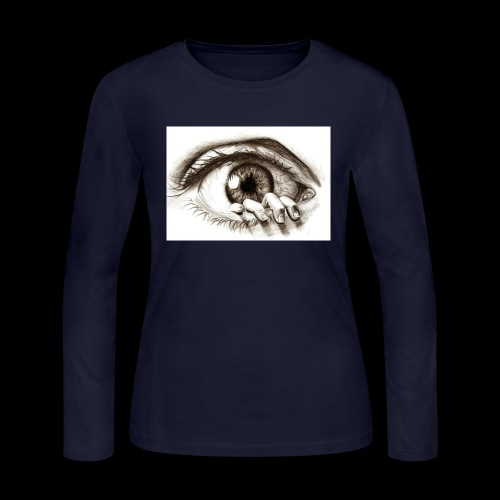 eye breaker - Women's Long Sleeve Jersey T-Shirt