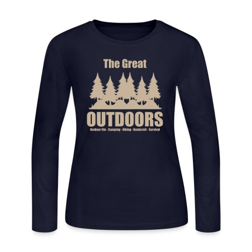 The great outdoors - Clothes for outdoor life - Women's Long Sleeve Jersey T-Shirt