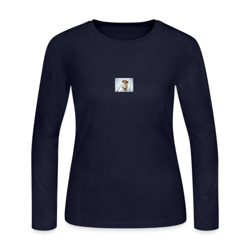 for my you tube channel - Women's Long Sleeve Jersey T-Shirt