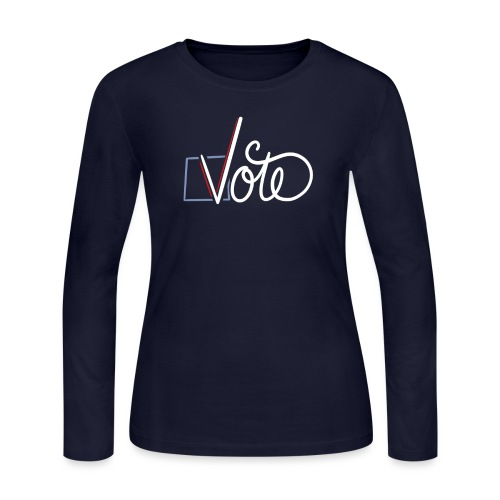 VOTE - Women's Long Sleeve Jersey T-Shirt