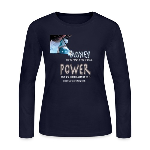 Power in Your Hands - Women's Long Sleeve Jersey T-Shirt