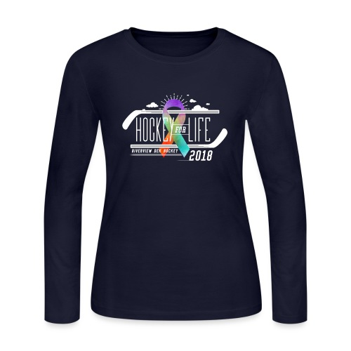 Hockey For Life 2018 - Women's Long Sleeve Jersey T-Shirt