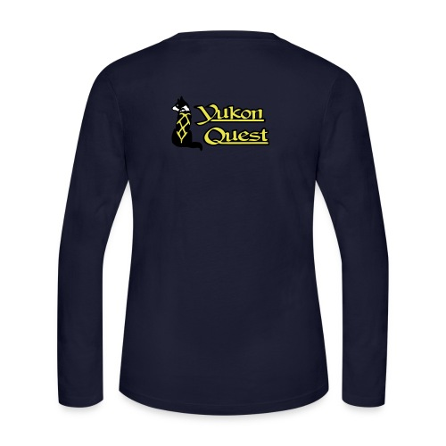 logo yukon quest 3c - Women's Long Sleeve Jersey T-Shirt