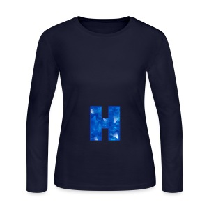 XxHaunter Logo - Women's Long Sleeve Jersey T-Shirt