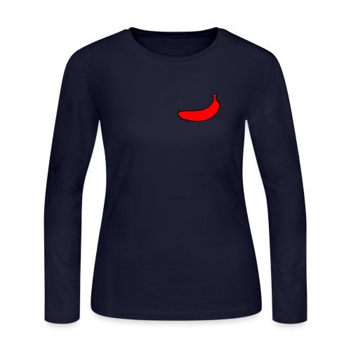 Red Banana Clothing original - Women's Long Sleeve Jersey T-Shirt