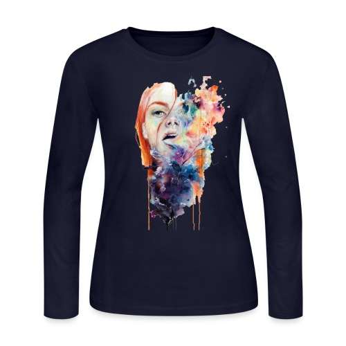 plastic art t-shirt - Women's Long Sleeve Jersey T-Shirt