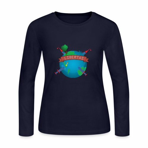 LIBERTAS - Women's Long Sleeve Jersey T-Shirt