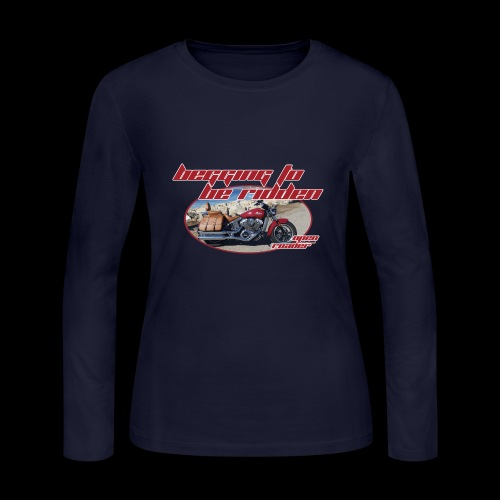 Begging to be Ridden - Women's Long Sleeve Jersey T-Shirt