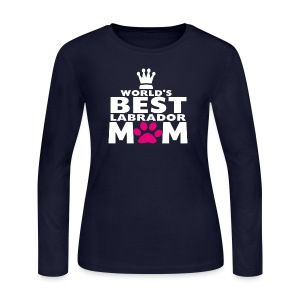 world best mom - Women's Long Sleeve Jersey T-Shirt