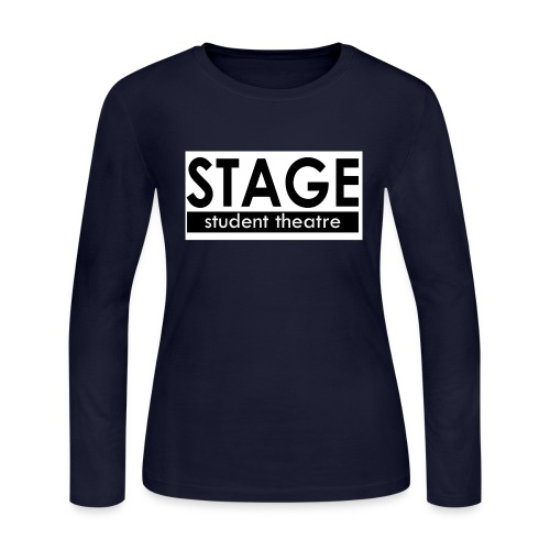 STAGE: Student Theatre - Women's Long Sleeve Jersey T-Shirt