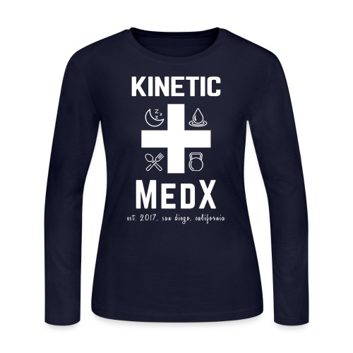Kinetic MedX - Women's Long Sleeve Jersey T-Shirt