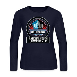Pro Football HOF National Youth Championship - Women's Long Sleeve Jersey T-Shirt