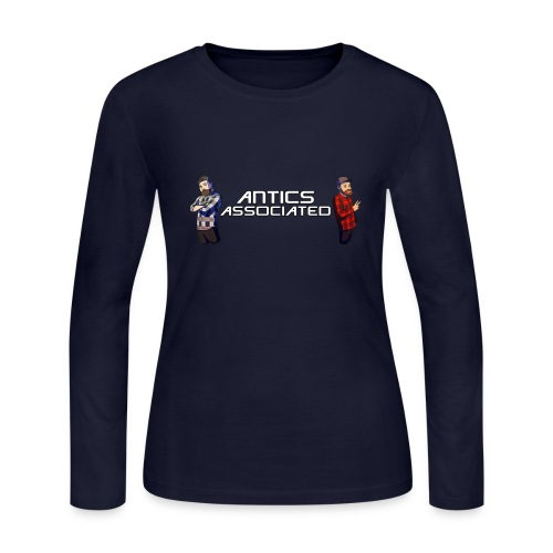 The Antics Crew - Women's Long Sleeve Jersey T-Shirt