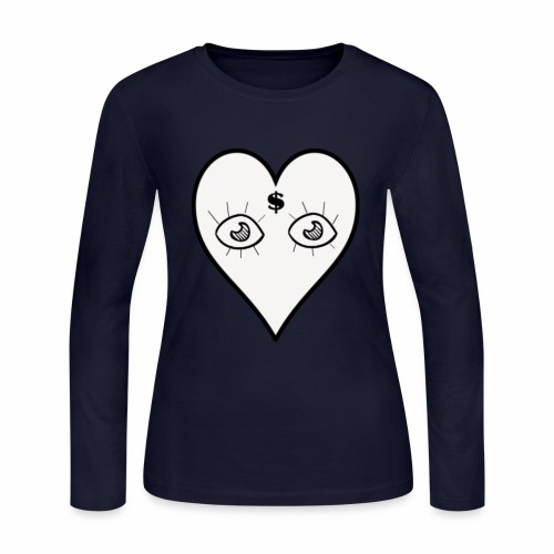 For the Love Of Money - Women's Long Sleeve Jersey T-Shirt