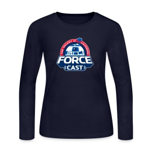 FORCE CAST LOGO - Women's Long Sleeve Jersey T-Shirt