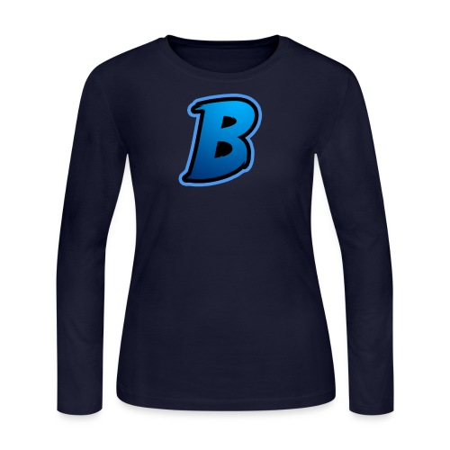 BradyBooneYT Logo - Women's Long Sleeve Jersey T-Shirt