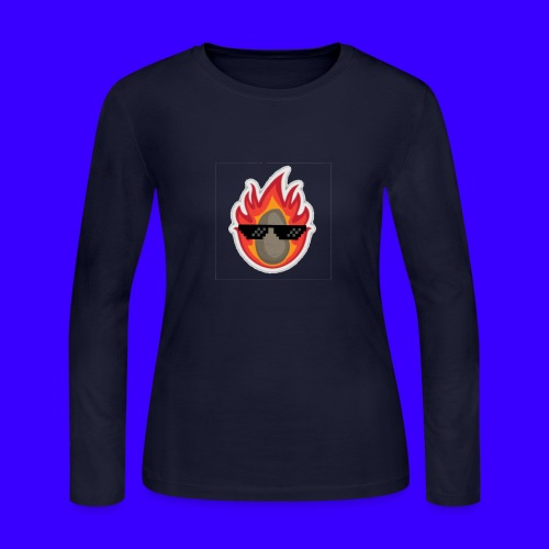 IBlazingPotato - Women's Long Sleeve Jersey T-Shirt