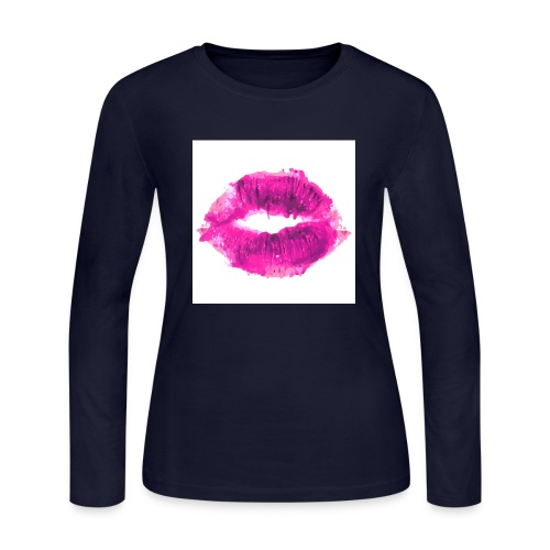 Lips of life... - Women's Long Sleeve Jersey T-Shirt