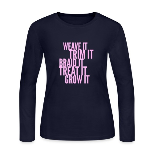 Healthy Hair - Women's Long Sleeve Jersey T-Shirt