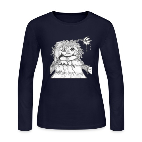 Rattly Ann - Women's Long Sleeve Jersey T-Shirt