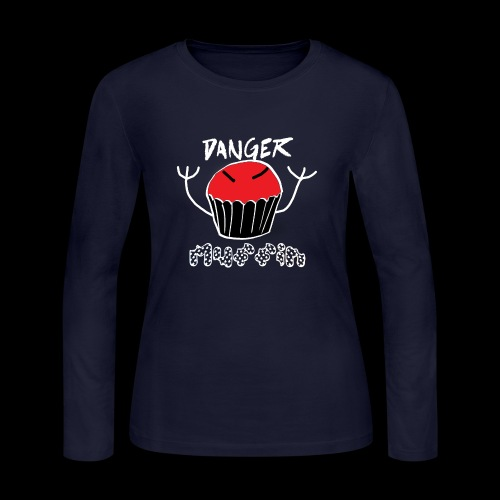 Danger Muffin - Women's Long Sleeve Jersey T-Shirt