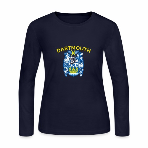 City of Dartmouth Coat of Arms - Women's Long Sleeve Jersey T-Shirt