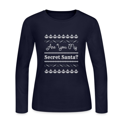 Are You My Secret Santa? - Women's Long Sleeve Jersey T-Shirt