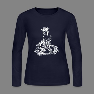 geisha white - Women's Long Sleeve Jersey T-Shirt