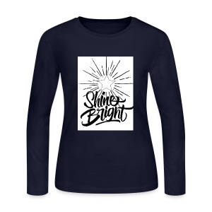 Shine bright - Women's Long Sleeve Jersey T-Shirt