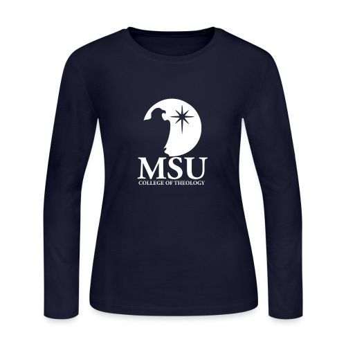 MorningStar College Theology - Women's Long Sleeve Jersey T-Shirt
