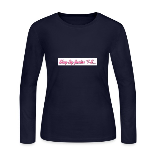 Slay by Justin T- Shirt Collection - Women's Long Sleeve Jersey T-Shirt