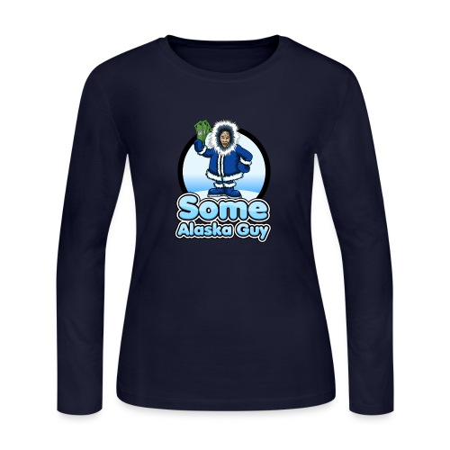 some alaska guy com icon logo 2 - Women's Long Sleeve Jersey T-Shirt