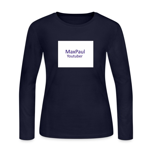 MaxPaul Youtuber - Women's Long Sleeve Jersey T-Shirt