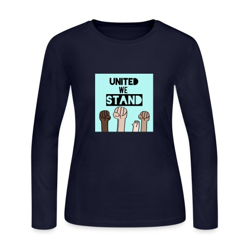 United we stand - Women's Long Sleeve Jersey T-Shirt