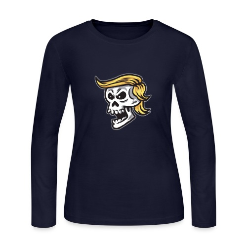 Calavera trump - Women's Long Sleeve Jersey T-Shirt
