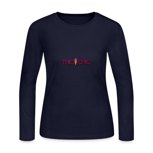 Thicchic - Women's Long Sleeve Jersey T-Shirt