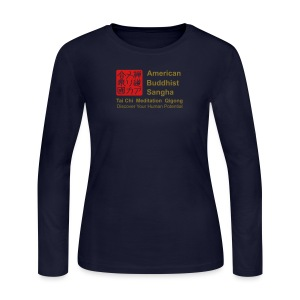 American Buddhist Sangha / Zen Do USA - Women's Long Sleeve Jersey T-Shirt