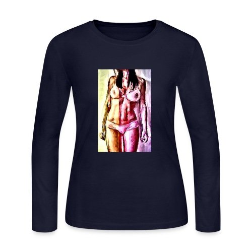 Rainbow Babe - Women's Long Sleeve Jersey T-Shirt